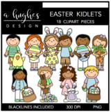 Easter Kidlets Clipart