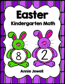 Easter Kindergarten Math Activities and Worksheets for the