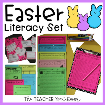 Easter Literacy Set for 4th - 5th Grade