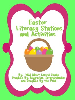 Easter Literacy Stations and Activities