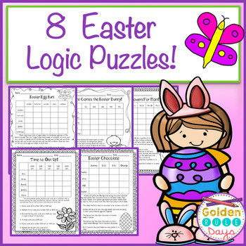Easter Logic Puzzles for Beginners~Critical Thinking~ Grad