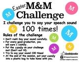 Easter M&M Challenge