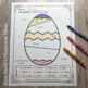 Color By Numbers Easter Eggs Addition Subtraction Multipli
