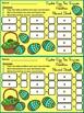 Easter Math Activities: Easter Egg Easter Ten Frames Sprin