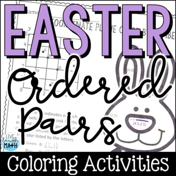Easter Math: Coordinate Grid Color by Number