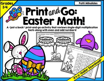 Easter Math For Big Kids: Multiplication Practice