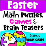 Easter Math Games, Puzzles and Brain Teasers