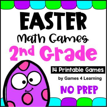 Easter Math Math Games Second Grade