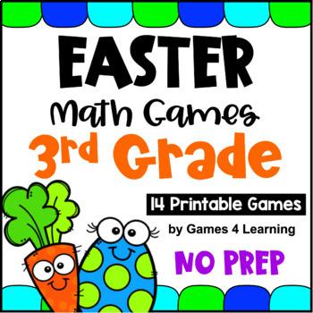 Easter Math Math Games Third Grade