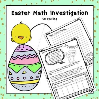Easter Math Problem Solving US