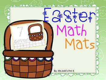 Easter Math Mat