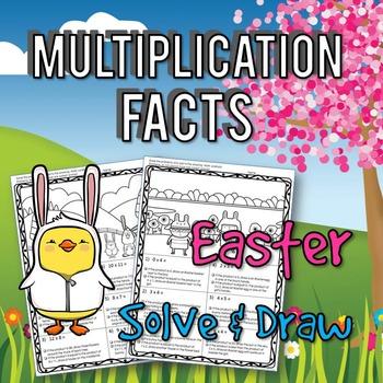 Multiplication Easter Math