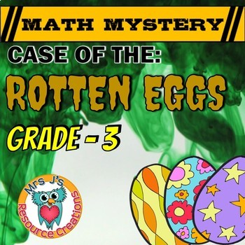 Easter Math Activity3: Easter Math Mystery - Case of The R