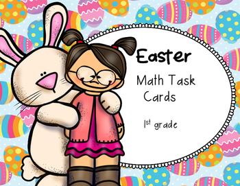 Easter Math Task Cards (1st grade)