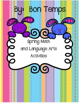 Spring Math and Language Activities