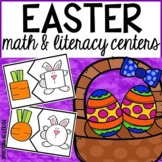Easter Math and Literacy Centers for Preschool, Pre-K, and