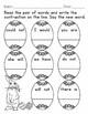 Easter Math and Literacy Pack