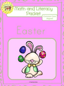 Easter Worksheets Emergent Reader Task Cards