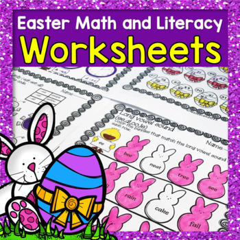 Easter Activities : Easter Math and Literacy