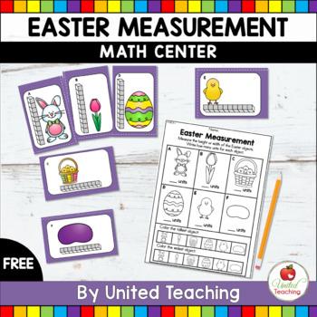 Easter Measurement Math Center - FREE