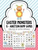Easter Monsters Addition & Multiplication Bump Games