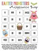 Easter Monsters Multiplication Bump Games
