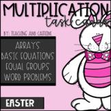 EASTER Multiplication Task Cards