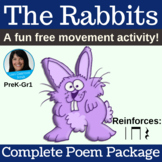 """Classroom Poem - """"The Rabbits"""" by Lisa Gillam - Complete M"""