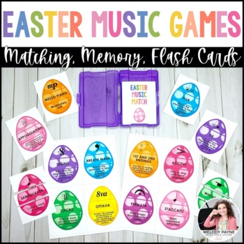 Easter Music Puzzles {Color & Ink-Friendly, American & Int