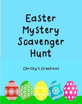 Easter Mystery Scavenger Hunt
