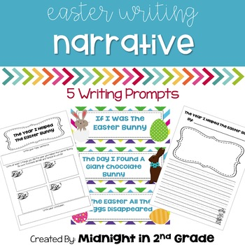 Easter Narrative Writing Common Core Aligned