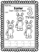 Easter Numbers 1-10: Count, Color, & Trace