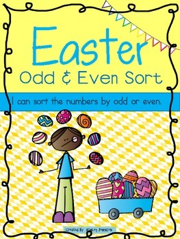 Easter Odd and Even Sort