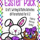Easter Pack - Craft, Writing & Maths Activities