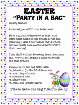 Easter Party in a Bag!