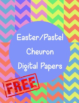 Easter/Pastel Digital Papers