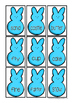 Easter Peeps Compound Word Literacy Center