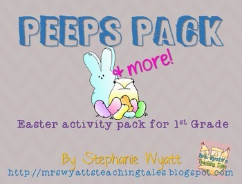 Easter Peeps Pack and More!