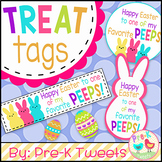 Easter Peeps Treat Tags