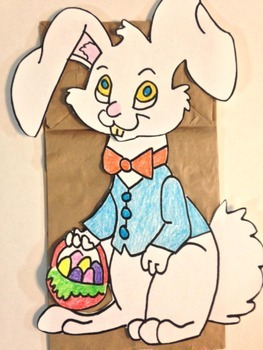 Easter Peter Cottontail Puppet