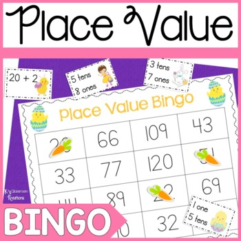 Easter Place Value Bingo Game