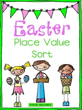 Easter Place Value Sort