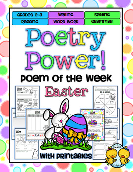 Easter Poetry Power! Daily Literacy Practice