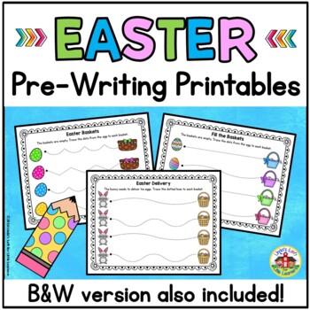 Easter Pre-Writing Printables