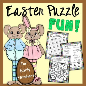 Easter Puzzle Fun!