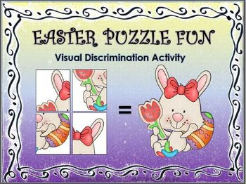 Easter Puzzle Fun: Visual Discrimination