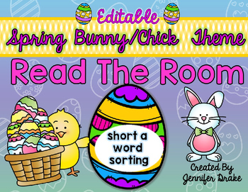 Easter Read the Room *EDITABLE*