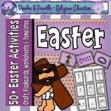 Easter ~ Celebrating the Events of Jesus ~ Flashcards, Wor