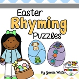 Easter Rhyming Puzzles