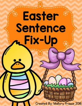Easter Sentence Fix-Up